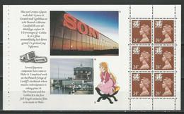 Wales Mi Heftchenblatt 4 ** MNH - Carnets