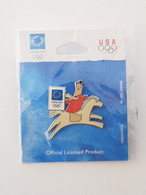 Athens 2004 Olympic Games - Equestrian Pin - Jeux Olympiques