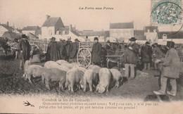 FOIRE Aux PORCS. CPA. Voir Description - Street Merchants