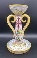 Bougeoir Vintage 1979 ARNO Firenze Italie Ht22cm  #collector #ceramiche  #handpainted #madeinitaly #ceramique - Deruta (ITA)