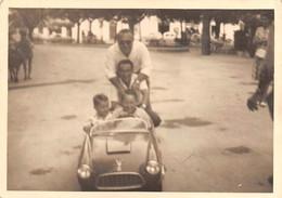 "09815 ""AUTOMOBILINA A PEDALI BIPOSTO""  ANIMATA, FOTOGR. ORIG. - Automobili"
