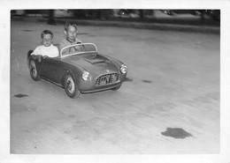 "09817 ""AUTOMOBILINA A PEDALI BIPOSTO""  ANIMATA, FOTOGR. ORIG. - Automobili"