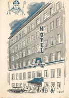 KOBENHAVN  -  Hôtel ABSALON  -  Dessin De WEINRICH - Denmark