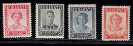 SOUTHERN RHODESIA Scott # 67-70 MH - Royal Family Victory Issue - Rhodesia Del Sud (...-1964)