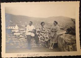 Porto De Funchal - Ilha Da Madeira - 1952 (14,5*10cm) Cx2 - Luoghi