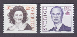 2005Sweden2457-2458King Charles XVI And Queen Silvia - Neufs