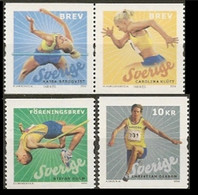 2006Sweden 2538-2541Sports / Athletics5,60 € - Neufs