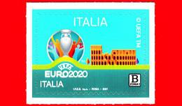 Nuovo - MNH - ITALIA - 2021 - UEFA EURO 2020 Italia - Campionato Europeo Di Calcio – Logo -  B Zona 1 - 2011-...: Mint/hinged