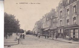 50-CARENTAN RUE DE LA GARE - Carentan