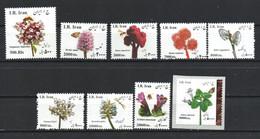 Iran 2015, 2016, 2017, 2018. Definitive Issue. Medicinal Plants. Flora. Flowers. MNH - Iran