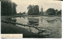 CPA - Carte Postale - Belgique - Parc D'Enghien - L'Etang Et La Chapelle - 1914 ( MO17841) - Enghien - Edingen