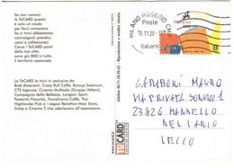 2020 TARIFFA B MARIETTI CARTOLINA TOCARD - 2011-...: Marcophilie