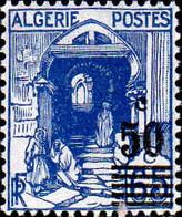 Algérie Poste N** Yv:166/167 Sujets Divers Nv.val.en Surch - Unused Stamps