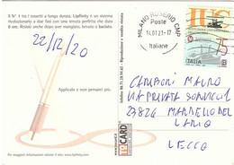 2020 TARIFFA B ISTITUZIONE UNIVERSITARIA CONCERTI CARTOLINA MAXFACTOR - 2011-...: Marcophilie