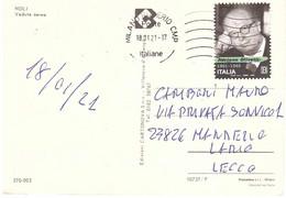 2020 TARIFFA B OLIVETTI CARTOLINA NOLI - 2011-...: Marcophilie