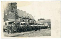 14-18.WWI - Carte Photo Allemande - Soldaten  Feindesland LKW Camion - Guerre 1914-18