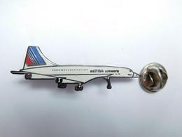 Beau Pin's Pins En EGF , Aviation , Avion Concorde , British Airways - Aerei
