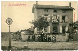 14-18.WWI - CPA - La Lorraine Ilustree - Batilly-Verneville - La Frontiere - Non Classés
