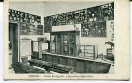 CPA - Carte Postale - Belgique - Enghien - Collège St Augustin - Laboratoire D'Agriculture - 1911 ( MO17845) - Enghien - Edingen