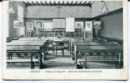 CPA - Carte Postale - Belgique - Enghien - Collège St Augustin - Salle Des Conférences Publiques - 1911 ( MO17846) - Enghien - Edingen