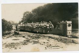 14-18.WWI - Carte Photo Allemande -   Lokomotive Feldbahn Argonnen Frankreich ( Meuse Ardennen) 13,5  * 8,4 Cm - Guerre 1914-18