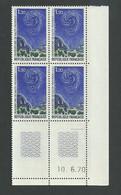 Coin Daté N° 1647 Observatoire De Haute Provence Du 10 6 1970 ** - 1970-1979