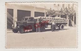 Maroc Casablanca Années 30-40 Beau Plan Camion Fargo Beau Format 7.5 Par 11.7 Cm Très Bon état - Coches