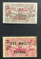 W&F 1924 - NEUF* / MH - YT 38 Et 39 - RARE - Lire Descriptif - 2ème Choix - CV 93 EUR - Neufs