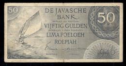 Netherlands Indies 50 Gulden 1946 Fine - Indonésie