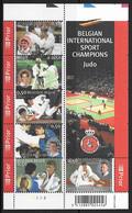 België/Belgique - Blok's/Blocs 2005 Xx Postfris - Neuf - BL121xx Judo In België/Le Judo En Belgique. - Libretti 1962-....