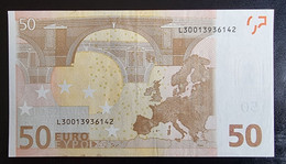 50 Euro Draghi R047 L30 Germany / Finland RRRR - RARE - 50 Euro