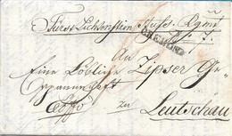 PREFILATELICA DA CREMONA A LEUTSCHAU ( LEVOCA) - SLOVACCHIA - 27.08.1831 - TESTO IN TEDESCO - G62 - ...-1850 Voorfilatelie