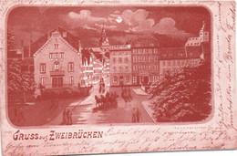 Zweibrücken Pfalz  Klappkarte  6410 - Zweibruecken