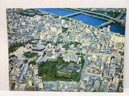 Sensoji Temple And Sumida-gawa River, Asakusa, Tokyo, Japan Postcard - Tokyo