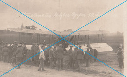 Ansichtskarte Foto Immelmanns Letztes Opfer 18 Juni 1916 Royal Aircraft Factory F.E.2 Jagtflieger Max Franz Immelmann - Weltkrieg 1914-18