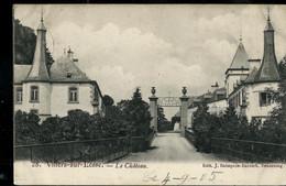 CP ( Villers-sur-Lesse: Le Château) Obl. ARLON - BRUXELLES 1905 + Griffe De VIGNEE - Linear Postmarks