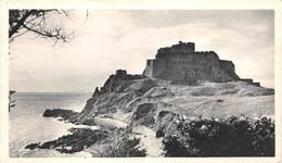 CPSM Moutarde AMORA -  JERSEY - MOUNT-ORGUEIL CASTLE  Timbrée, Oblitérée 1951 ( ͡◕͜ʖ ͡◕) ♦ - Publicité