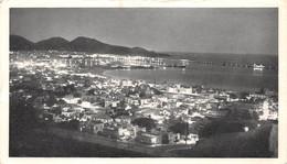 CPSM Moutarde AMORA -  CANARIES - LAS PALMAS (VUE DE NUIT)   Timbrée, Oblitérée 1951 ( ͡◕. ͡◕) ♣ - Publicité