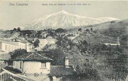 ESPANA ILES CANARIES SANTA CRUZ DE  TENERIFE  LE PIC DU TEIDE - Tenerife