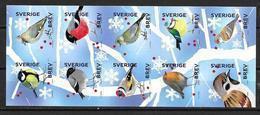 Suède 2018 Carnet Neuf Oiseaux - 1981-..
