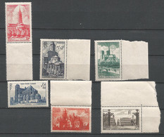 FRANCE ANNEE 1947 N°772 à 776,778 NEUFS** MNH COTE 17,00 € TB - Nuovi