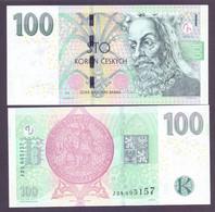 "Tschechien, 100 Kronen 2018, Prefix ""J"", Selten, Unc. - Tschechien"