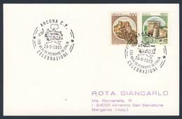 Italy Italie Italia 1990 Karte Card - 150 Anni Ferrovie In Italia / Eisenbahn In Italien - Eisenbahn Neapel–Portici 1839 - Treinen