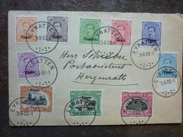 1920  Lettre EUPEN  Cachet Eynatten  10 Stamps   PERFECT - Covers & Documents