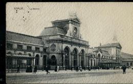 CP ( Namur: La Station) Obl. BRUSSEL - BRUXELLES - ARLON 1912 - Ambulants