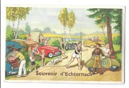 Luxembourg, Souvenir D'Echternach. Carte à Système (11172) - Echternach