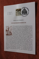 Österreich 2003, Ersttagsblatt:  Ferienland Österreich: Steyr - Non Classificati