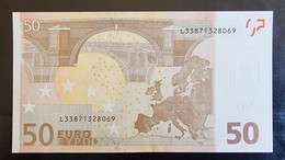 50 Euro Draghi R051 L33 Germany / Finland - 50 Euro