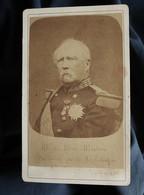 Photo CDV Anonyme  Portrait Mac Mahon  Président De La République  CA 1875 - L559B - Old (before 1900)