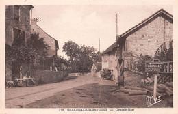 SALLES-COURBATIES - Grande Rue - Panneau Claunhac, Decazeville - Otros Municipios